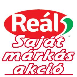 Reál Saját márkás akciós újság
